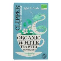 Clipper Organic White Tea with Peppermint 6 x 26 Bags